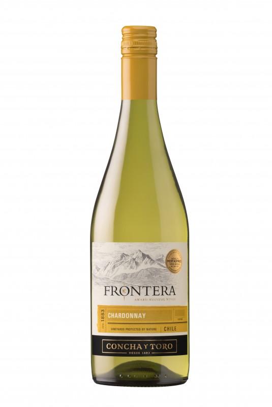 Vynas ,,Frontera Chardonnay'' 750ml (išskyrus Mažeikių, Kauno ir Klaipėdos miestus)