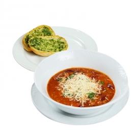 Aitriųjų paprikų ir mėsos sriuba