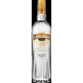 Degtinė ,,Lithuanian vodka'' 500ml (išskyrus Mažeikių, Kauno ir Klaipėdos miestus)