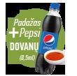 Pepsi dovana
